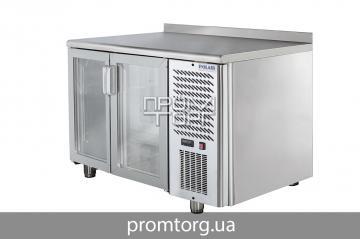 Холодильный стол Polair со стеклянными дверьми