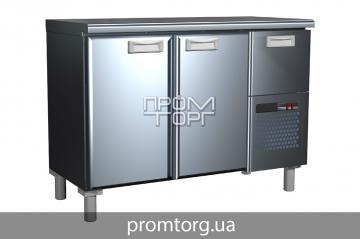 Холодильный стол Сarboma BAR с глухой дверью