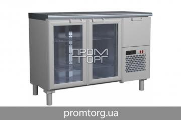 Холодильный стол Сarboma BAR со стеклянными дверьми