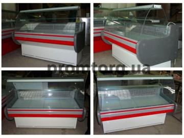 Витрина Лира низкотемпературная с прямым стеклом купить в Чернигове