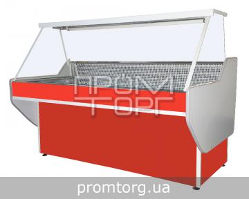 Витрина холодильная без охлаждаемого бокса Эко с прямым стеклом