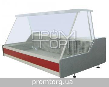 Настольная витрина холодильная Эко-Н с прямым стеклом