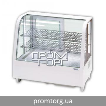 Холодильная витрина настольная на 100 л Stalgast Польша с гнутым стеклом купить в Чернигове