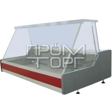 Настольная универсальная витрина Эко-Н с прямым стеклом купить в Чернигове