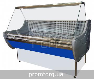 Витрина универсальная Стандарт ЛЮКС с прямым стеклом купить в Чернигове