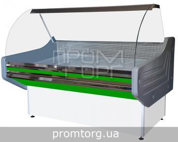 Витрина универсальная Престиж ЛЮКС с гнутым стеклом купить в Чернигове