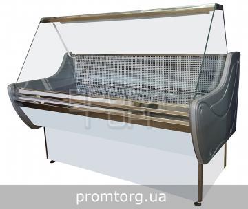 Витрина холодильная Стандарт ЛЮКС с прямым стеклом купить в Киеве