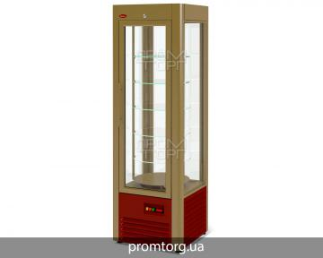 Витрина вертикальная VENETO RS-0,4 с вращающимися полками купить в Чернигове