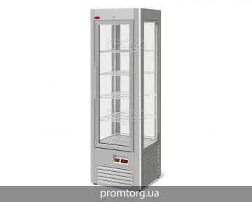 Вертикальная витрина для тортов VENETO RS-0,4 нержавейка купить в Киеве