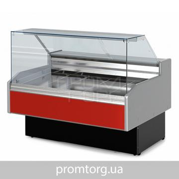 Холодильная витрина универсальная Двина QS ВСн с прямым стеклом купить в Чернигове