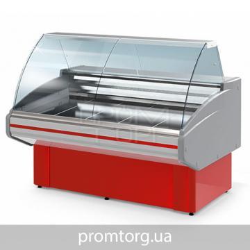 Холодильная Витрина универсальная Двина CS ВСн с гнутым стеклом купить в Чернигове
