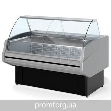 Холодильная Витрина универсальная Двина CS ВСн с гнутым стеклом купить в Белой Церкви