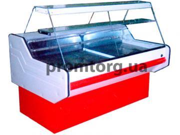 Витрина холодильная Классика с прямым стеклом купить в Чернигове