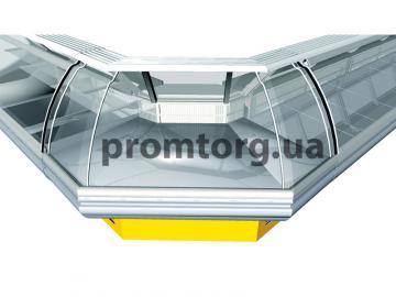 Витрина холодильная Сорренто угловая купить в Киеве