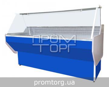 Витрина холодильная СТАНДАРТ с прямым стеклом купить в Чернигове