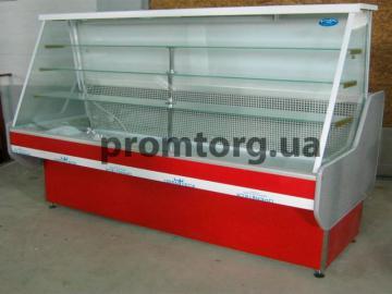 Кондитерская холодильная витрина Конди с прямым стеклом купить в Днепре