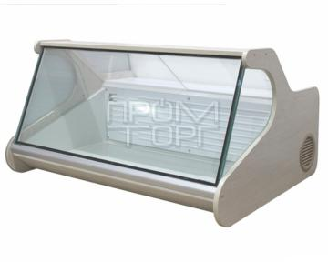 Настольная витрина недорого со стеклопакетом без полки