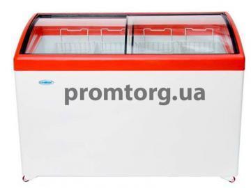 Морозильный ларь GELLAR ELEGANCE с гнутым стеклом купить в Киеве