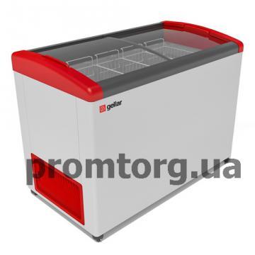 Морозильный ларь GELLAR с гнутым стеклом купить в Киеве