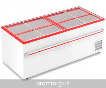 Морозильный ларь-бонета Frostor F 2000 В, F 2500 В с прямым стеклом купить в Белой Церкви