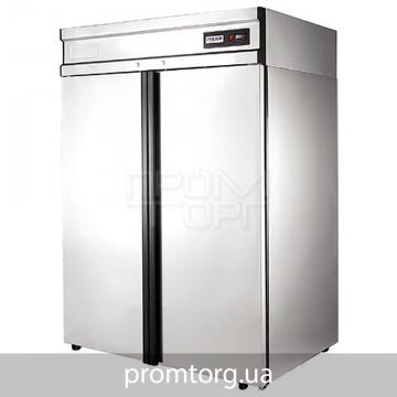 Шкаф холодильный глухой двухдверный Polair с нержавеющей стали купить в Чернигове