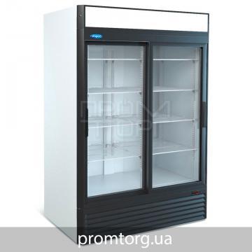Шкаф холодильный с 2-мя стеклянными дверьми купе Капри на 1100 и 1500 л купить в Чернигове