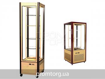 Холодильный кондитерский шкаф Carboma с вращающимися полками