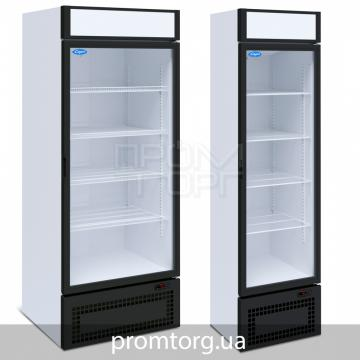 Универсальный шкаф со стеклянной дверью на 500 и 700 л купить в Белой Церкви