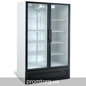 Среднетемпературный холодильный шкаф со стеклянной дверью на 800 л  купить в Чернигове