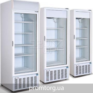 Стеклянные холодильные шкафы Crystal на 300, 400, 500 и 600 л купить в Чернигове