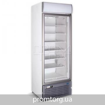Шкаф морозильный со стеклянной дверью Crystal на 400 л купить в Чернигове
