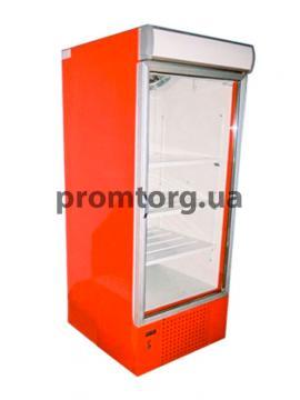 Шкаф холодильный со стеклянной дверью и лайт-боксом
