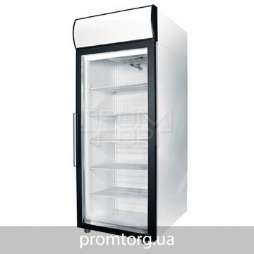 Шкаф холодильный со стеклянной дверью и лайт-боксом Polair