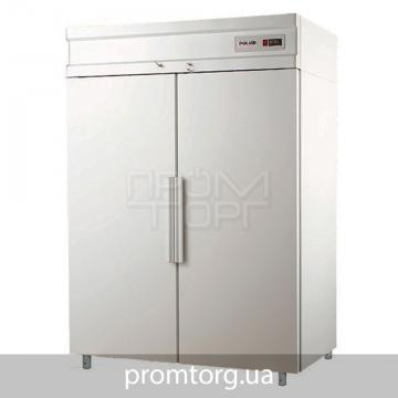 Шкаф морозильный на 2 глухие двери Polair CB из нержавейки купить в Чернигове