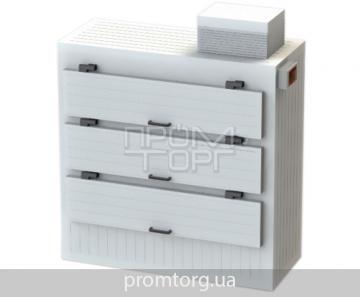 Камера для морга на три трупа с боковой загрузкой купить в Киеве