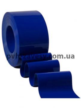 Гладкая ПВХ Лента синего цвета матовая