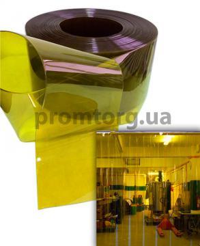 Желтая ПВХ лента гладкая силиконовая