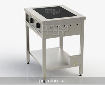плита двухконфорочная электрическая промышленная без духовки