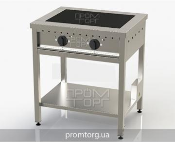 Электроплита двухконфорочная ЭПК-2 чугунная без духовки купить в Киеве