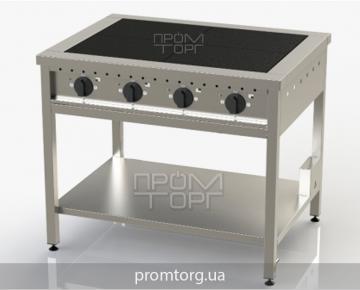 Плита электрическая 4х конфорочная без духовки ЭПК-4 чугунная купить в Белой Церкви