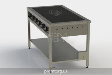 Плита электрическая 6-ти конфорочная без духовки ЭПК-6 купить в Киеве