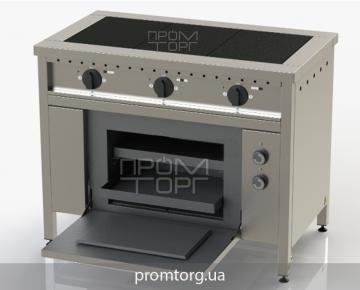Электроплита трехконфорочная с духовкой ЭПК-3 чугунная купить в Киеве