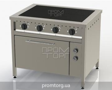 Плита электрическая 4-х конфорочная с духовкой ЭПК-4 чугунная купить в Киеве