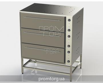Шкаф пекарский трёхсекционный ШПЭ-3 купить в Киеве