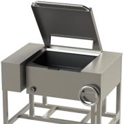 Сковорода электрическая чугунная промышленная СЭМ-02, СЭСМ-02, СЭ-30 на 30 л купить в Белой Церкви