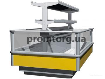 Морозильная ванна бонета со стеклопакетом и суперструктурой Венеция (Venezia, РОСС) купить в Киеве