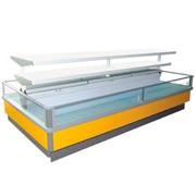 Морозильная ванна бонета со стеклопакетом и суперструктурой Венеция (Venezia, РОСС)