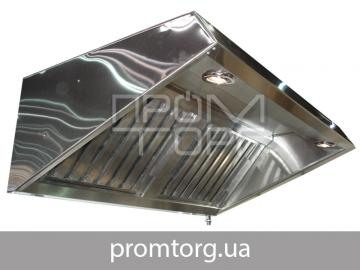 Зонт вытяжной для вентиляции пристенный
