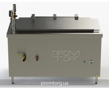 электрокотел с прямоугольной чашей пищеварочный промышленный на 250 л