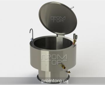 промышленный электрокотел с круглой чашей на 250 л электрический